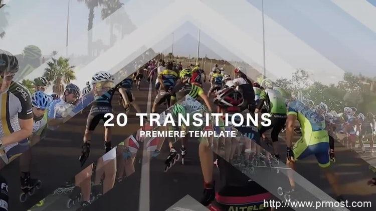 003-20组箭头转场特效Pr模版,20 Transitions
