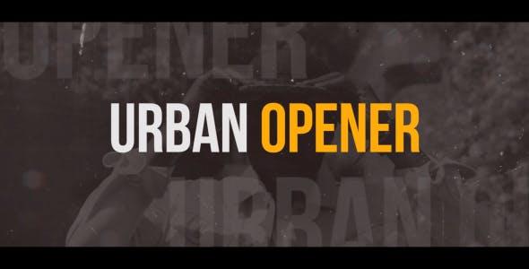025城市视频开场宣传Pr模版,Dynamic Urban Opener