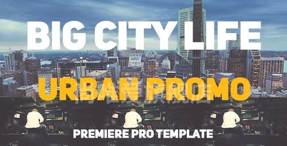 031城市视频宣传Pr模版,Big City Life