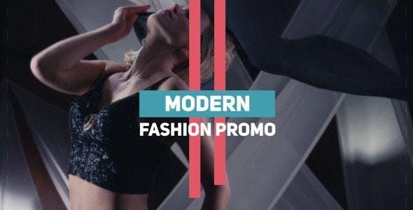 038现代时尚视频宣传Pr模版,Modern Fashion Promo