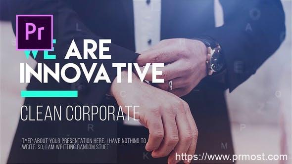 045企业公司发展时间线Pr模版,Corporate Timeline