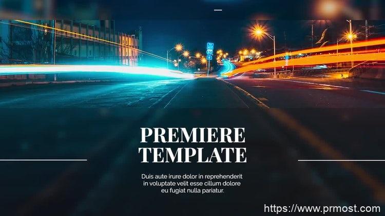 070简洁企业公司视频宣传Pr模版,Clean Corporate Promo