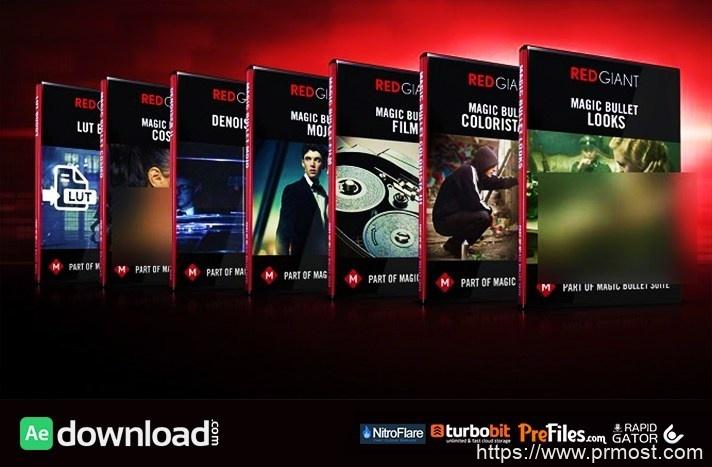 红巨人降噪磨皮调色插件套装Red Giant Magic Bullet Suite v13.0.12 Win/Mac支持Adobe 2020