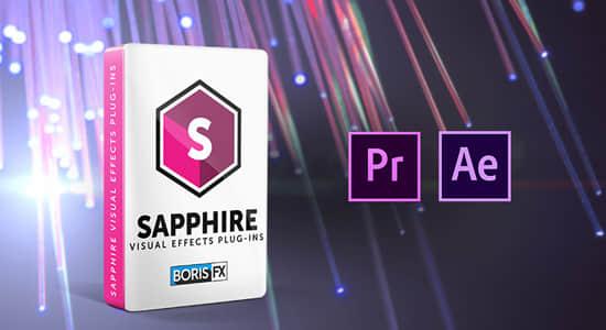 Ae/Pr蓝宝石视觉特效和转场插件 Sapphire 2019.52 Win/Mac破解版