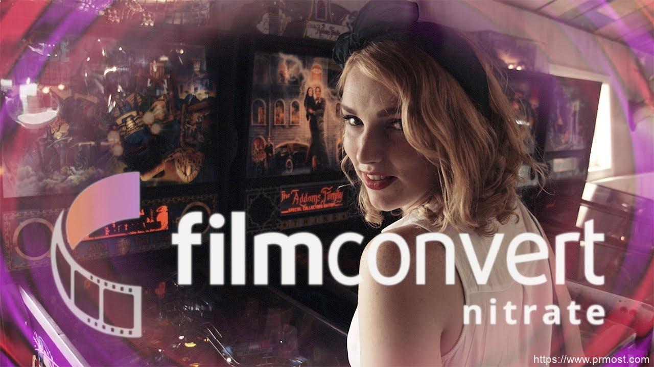 AE/PR电影胶片复古视频调色pr插件 FilmConvert Nitrate 3.0 Win/Mac破解版