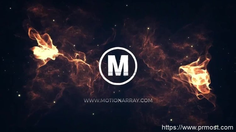 093能量光线logo演绎pr模版,Energy Light Logo