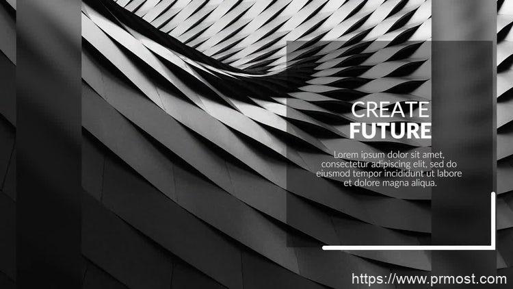 103商务企业公司视频宣传Pr模版,Geometry Promotion