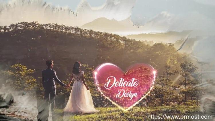 156婚礼图片相册展示Pr模版,Wedding Slideshow