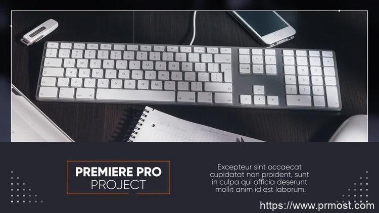 161商业企业公司宣传视频Pr模版,Minimal Corporate Premiere