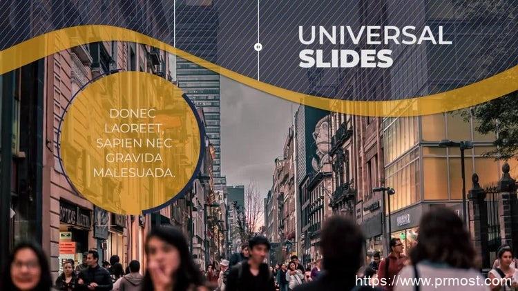 171现代企业公司视频宣传Pr模版,Modern Corporate Slideshow