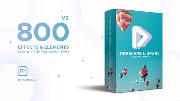 240-800+快闪调色转场过渡视频开场Pr预设Pr模版,Premiere Library – Most Handy Effects