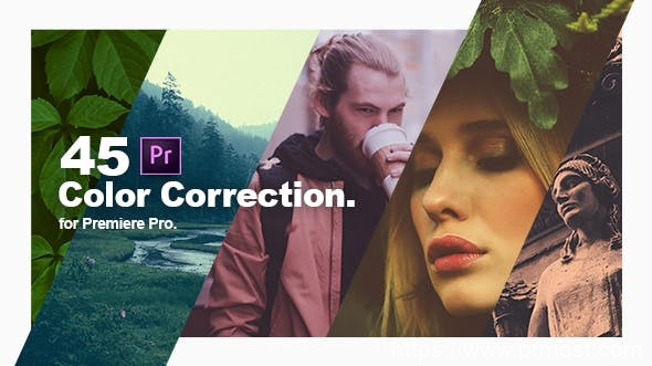 250-45组调色prfpset预设Pr预设,Color Correction & Color Grading Presets for Premiere Pro