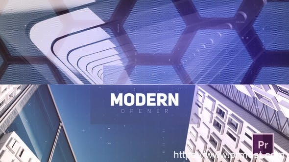 258数字科技图片视频展示Pr模版,Digital Slideshow