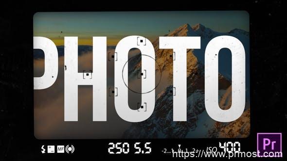 306视频相册转场过渡特效Pr模版