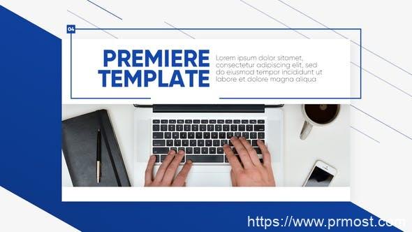310简洁商业企业公司视频宣传包装Pr模版,Clean Presentation – Premiere Promo