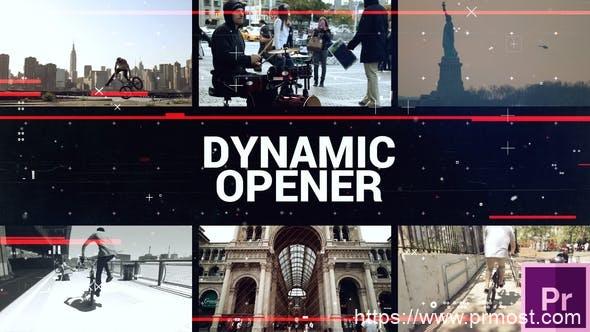 375动态快闪视频开场Pr模版,Dynamic Short Opener