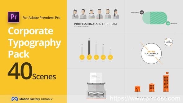 391企业公司搜索引擎优化服务视频宣传Mogrt动画Pr预设,SEO Corporate Typography Pack for Premiere Pro | Miscellaneous
