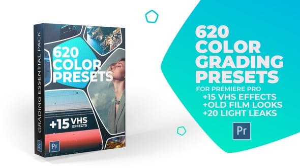 537-620组时尚电影调色预设Pr预设,620 Cinematic Color Presets