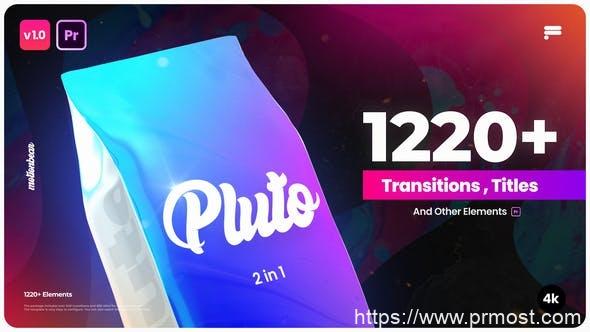 694-PR模板+预设-1220组无缝视频转场文字标题字幕动画工具包