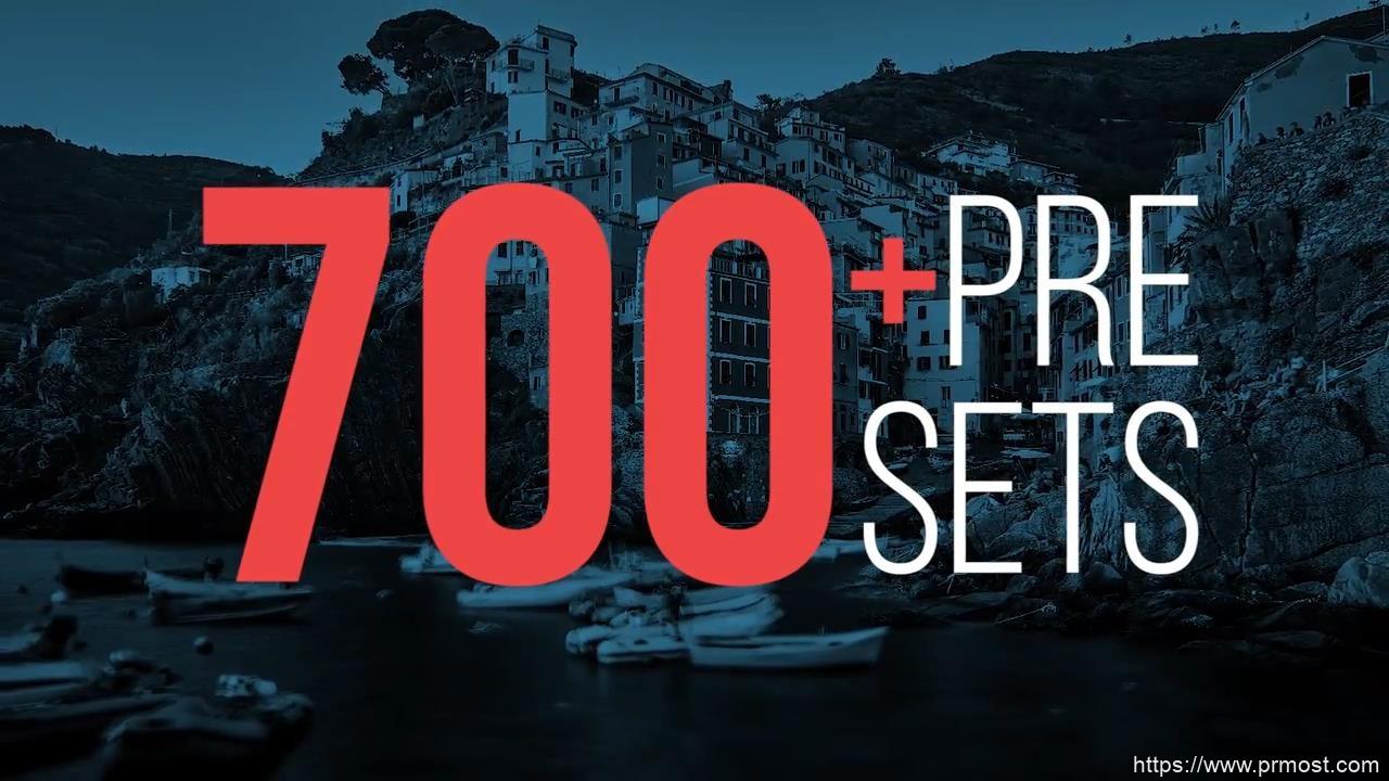 679-700个图形错位转场过渡Pr预设,700 Presets of Nice Transitions