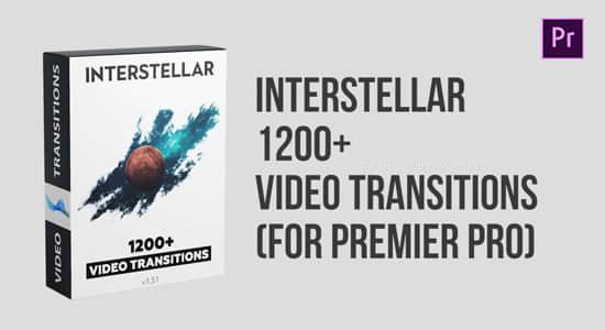 Pr模板-1200种切割RGB色彩分离缩放移动旋转扭曲故障拉伸视频转场预设