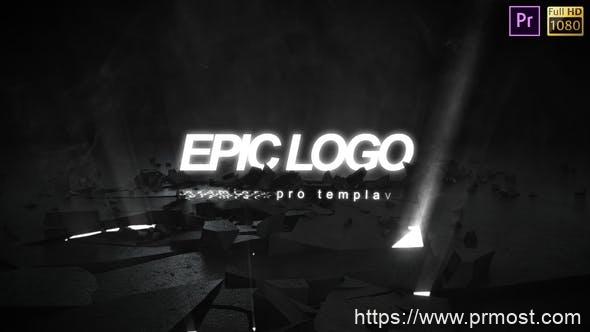 767史诗级logo演绎Pr模版,Epic Logo – Premiere Pro