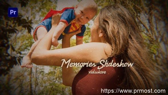 879PR预设家庭照片相册回忆片头,Photo Slideshow – Family Memories 31973490