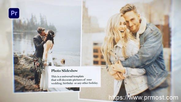 881PR预设美好浪漫回忆婚礼照片相册片头 Lovely Slideshow – Photo Slideshow 31601037