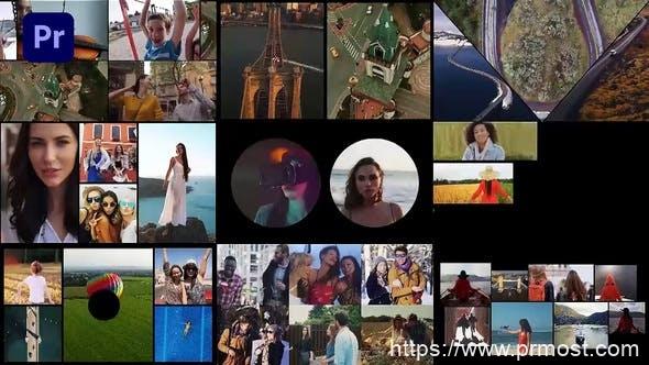 885PR预设-视频图片分屏插件预设动画,Multi Screen Frames Pack