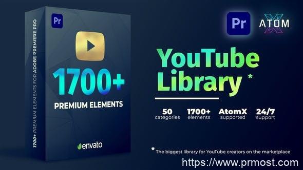 904Premiere/PR脚本-1700无缝视频转场文字标题排版包装字幕动画预设 破解版27009072